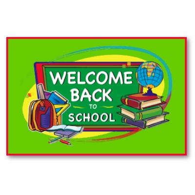 Selamat Datang Kembali Ke Sekolah Templat Postermywall